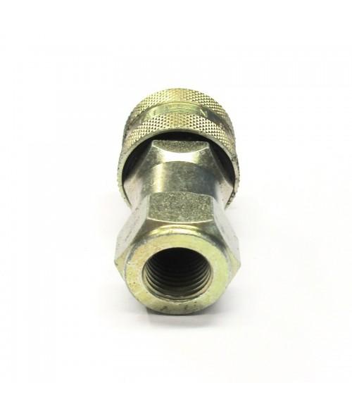 """25-C23071-04 Pikaliitin 1/4"""" runko ISO-A"""
