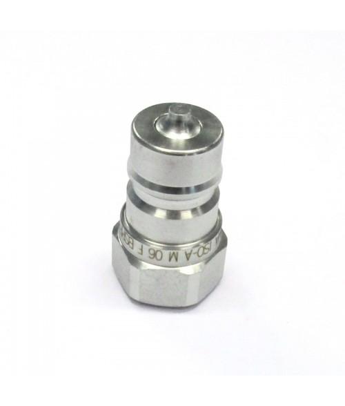"25-C23072-06 Pikaliitin 3/8"" nippa ISO-A"