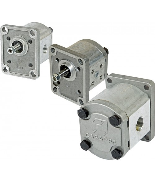 02004638 PLP20.6,3D0-82E2-LEA/EA-EL-FS Casappa Polaris 20-sarja, hammaspyöräpumppu (hammasrataspumppu)