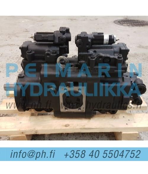 K1040160, 400914-00695 Doosan DX140 hydraulipumppu, pääpumppu, mäntäpumppu, säätötilavuuspumppu, korjaus, huolto, varaosat