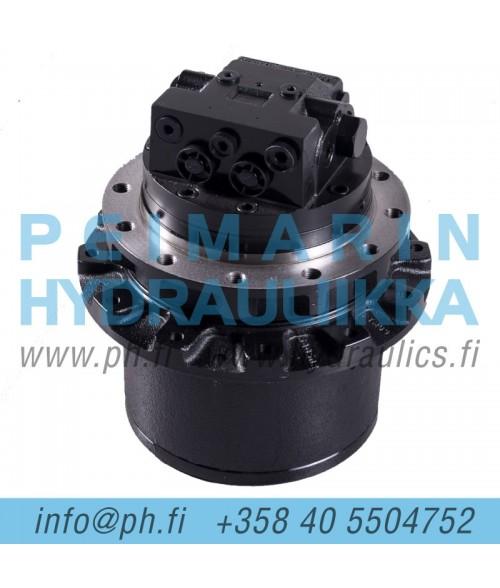 Hanix-Nissan H75B VETONAPA  ajomoottori, vetomoottori / Final Drive NSS7-00800, NSS7-00800-1