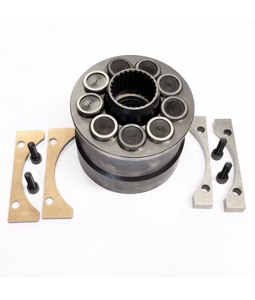 877419 PVH131 KORJAUSSARJA (sylinteri, männät, vetolevy) / ROTATING GROUP