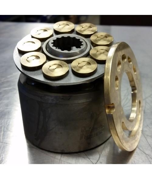 VOE15043729 KORJAUSSARJA (sylinteri + männät + vetolevy + jakolevy) / Pump unit Volvo, ROTARY GROUP