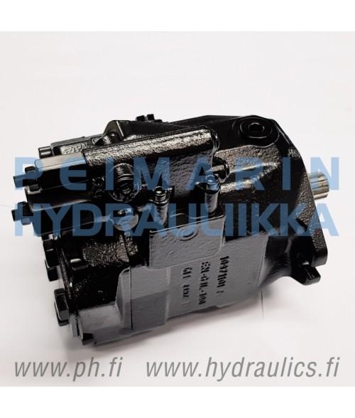 VOLVO L70B, L70C Hydraulipumppu Rexroth A10VO45 VOE11998850 (takimmainen pumppu)
